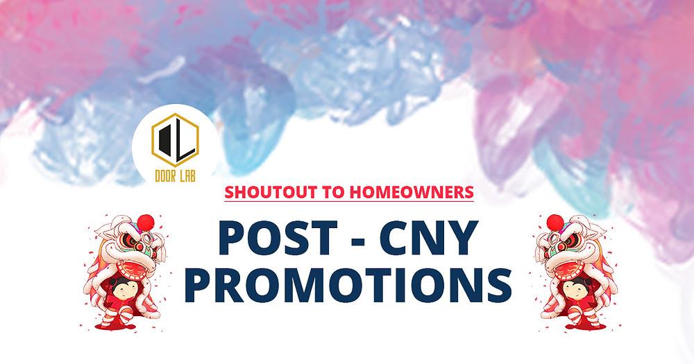 Post CNY Promotions