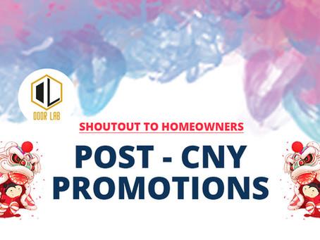 Post-CNY Promotions