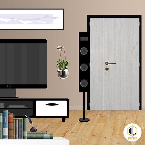 Main Door - Cream Maple V