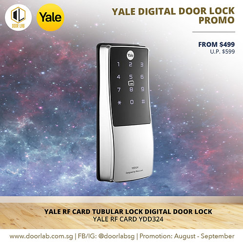 Yale Proximity Card Tubular Deadbolt YDD324 Digital Door Lock