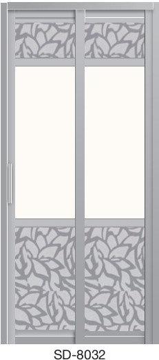Slide & Swing Toilet Door SD-8032