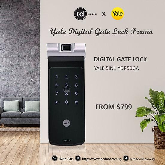 Yale YDR50GA Digital Gate Lock