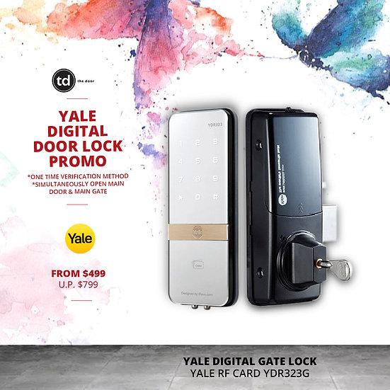Yale RF Card YDR323G Digital Gate Lock