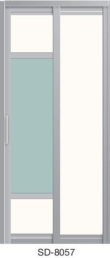 Slide & Swing Door SD-8057