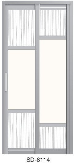 Slide & Swing Door SD-8114
