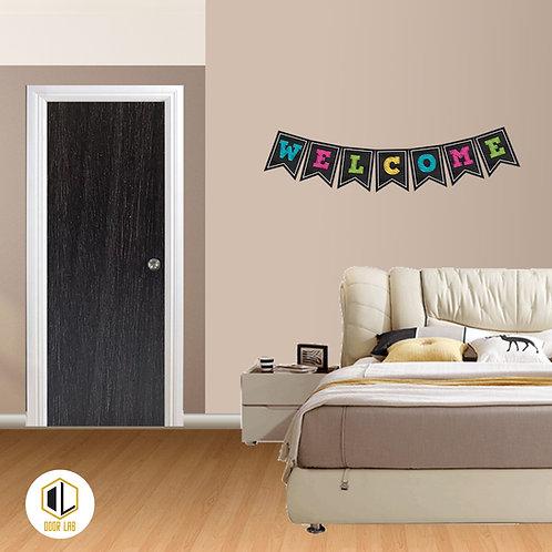 Solid Laminate Bedroom Door - Brown Cocoa