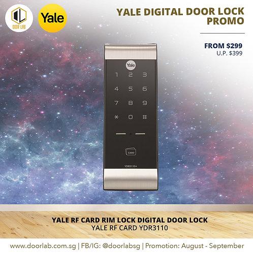 Yale Proximity Card Rim Lock YDR3110 Digital Door Lock