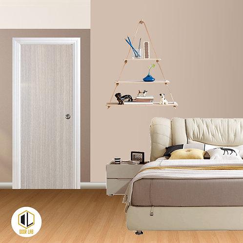 Solid Laminate Bedroom Door - Cinnamon