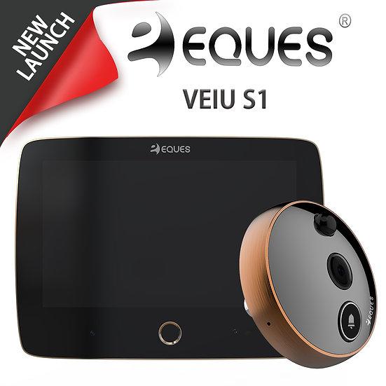 Eques Vieu S1 Pro Digital Door Viewer(Dual Camera)