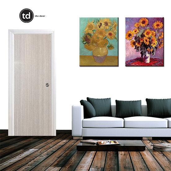 Laminate Solid Bedroom Door- TD10 Smoke