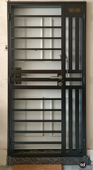 Mild Steel Main Gate TD-MSG-G10