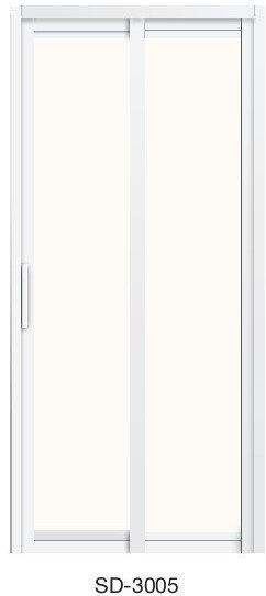 Slide & Swing Toilet Door SD-3005