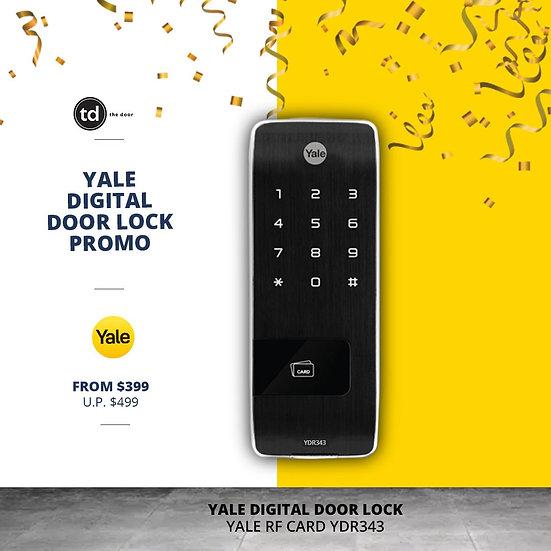 Yale RF Card YDR343 Digital Door Lock