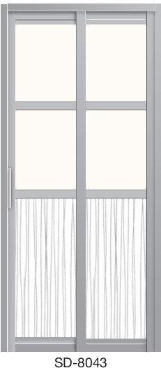 Slide & Swing Door SD-8043