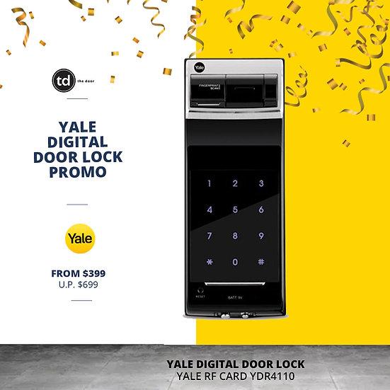 Yale Biometric YDR4110 Digital Door Lock