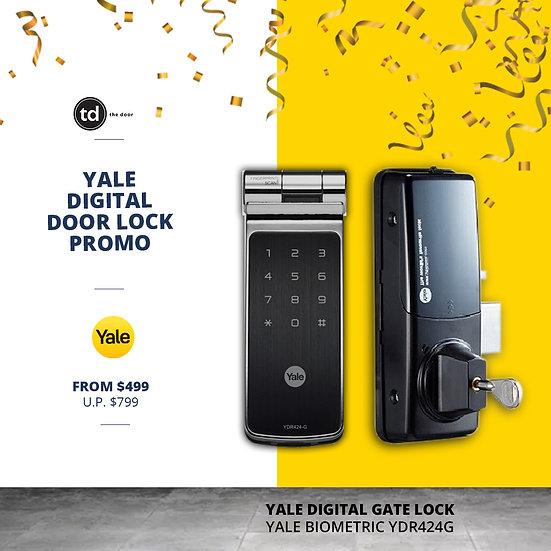 Yale Biometric YDR424G Digital Gate Lock