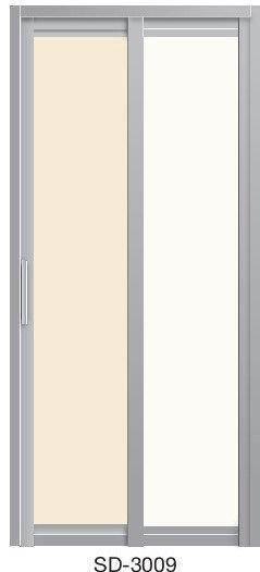 Slide & Swing Toilet Door SD-3009