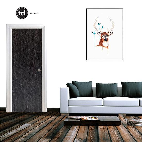 Laminate Solid Bedroom Door- TD7 Cocoa Line