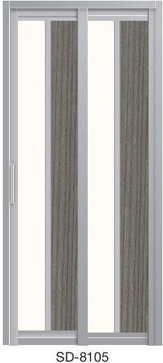 Slide & Swing Toilet Door SD-8105