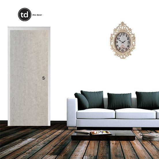 Laminate Solid Bedroom Door- TD16 Teen Concrete