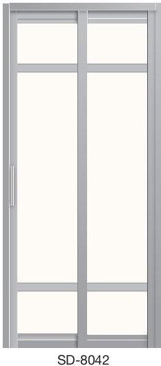 Slide & Swing Toilet Door SD-8042