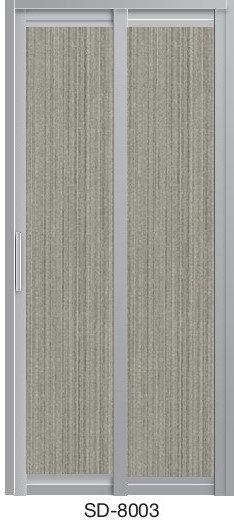 Slide & Swing Toilet Door SD-8003