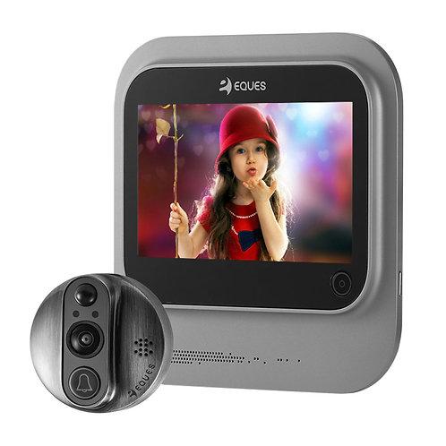 Eques R26 Premium Nickel Digital Door Viewer