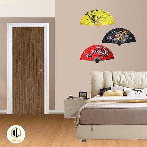 Solid Laminate Bedroom Door - Bliss Brown