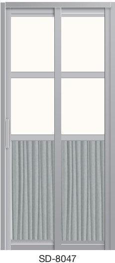 Slide & Swing Door SD-8047