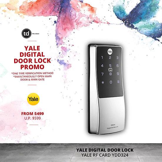 Yale RF Card YDD324 Digital Door Lock