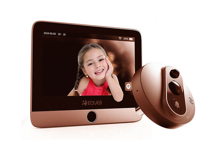 Eques A27 Veiu Mini 2 Premium Gold Digital Door Viewer