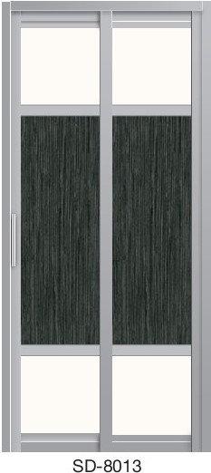 Slide & Swing Toilet Door SD-8013
