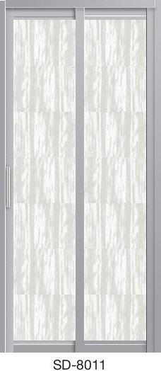 Slide & Swing Toilet Door SD-8011