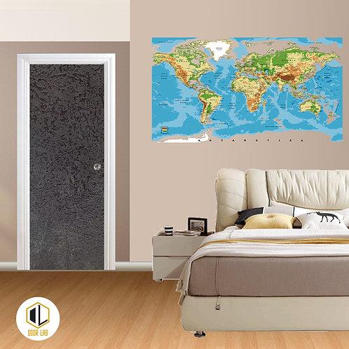 Solid Laminate Bedroom Door - Gary Tip