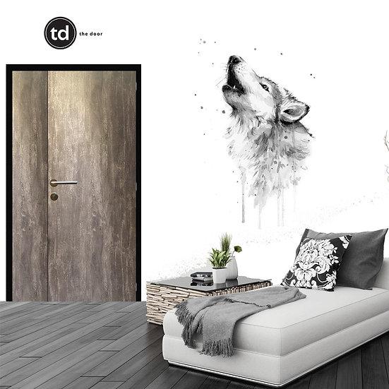 Laminate Main Door- TD1905 Rustic Concrete