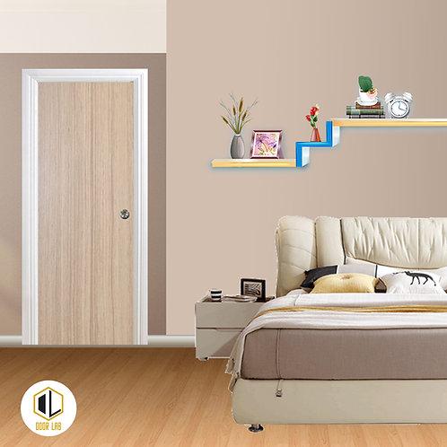 Solid Laminate Bedroom Door - Raven