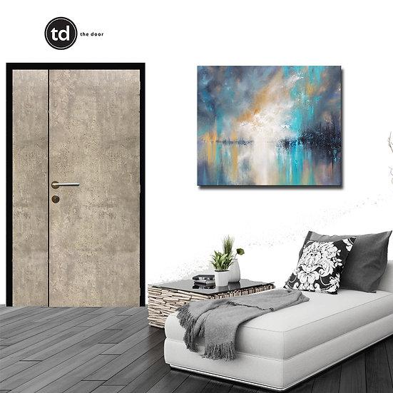 Laminate Main Door- TD1904 Ash Concrete