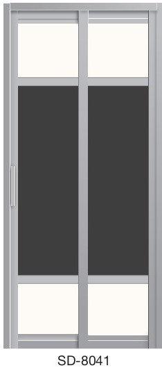 Slide & Swing Toilet Door SD-8041