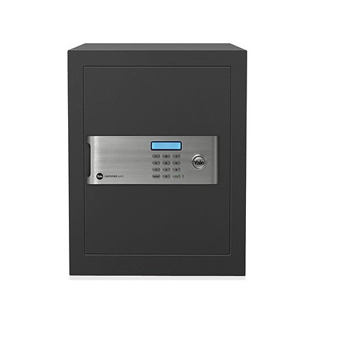 Yale Certified YSM/400/EG1 Grey Home Safe