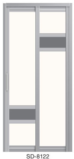 Slide & Swing Door SD-8122