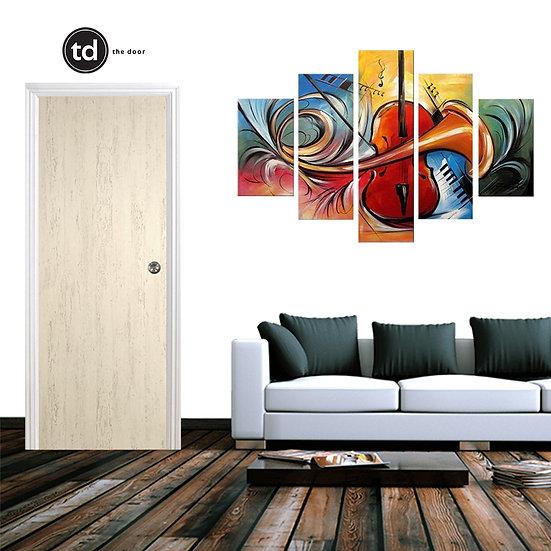 Laminate Solid Bedroom Door- TD1903 Porcelain Cloud