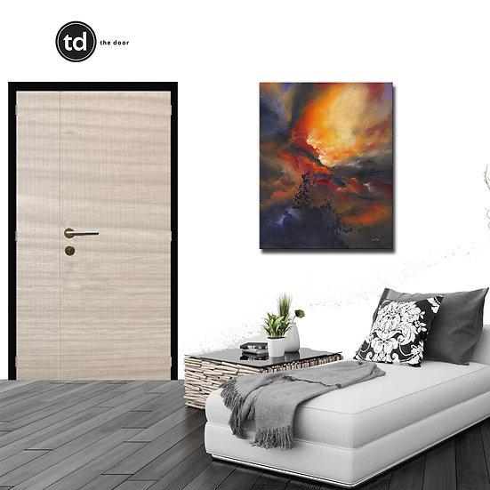 Laminate Main Door- TD15 Woody H