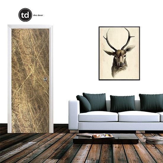 Laminate Solid Bedroom Door- TD1908 Glamour Vivid