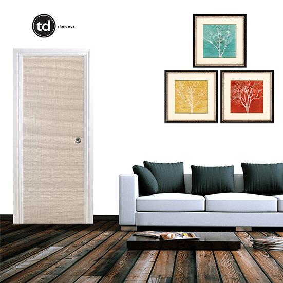 Laminate Solid Bedroom Door- TD15 Woody H