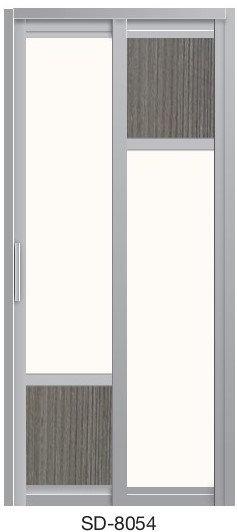 Slide & Swing Toilet Door SD-8054
