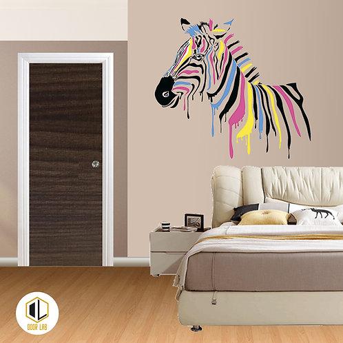 Solid Laminate Bedroom Door - Dark Royal