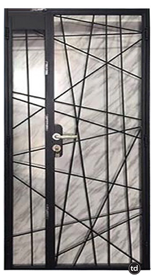 Mild Steel Main Gate TD-MSG-B21