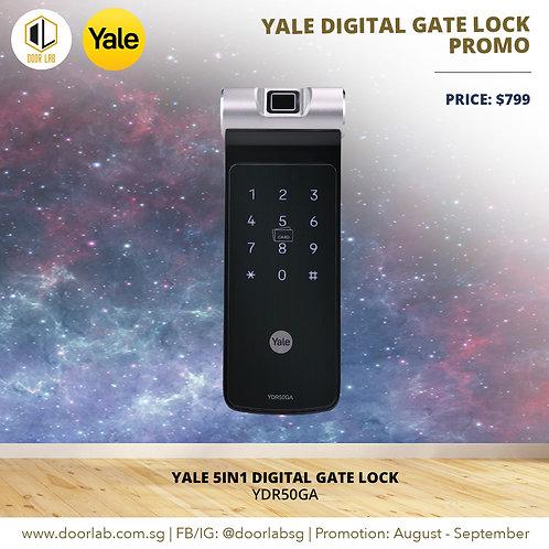 Yale Digital Gate Lock YDR50GA