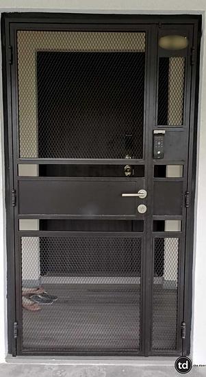 Mild Steel Main Gate TD-MSG-B23