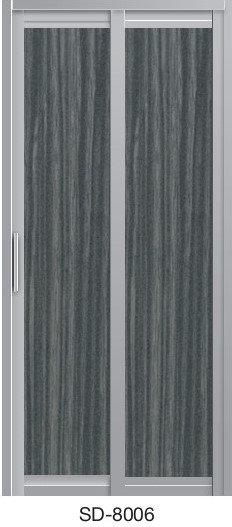 Slide & Swing Toilet Door SD-8006